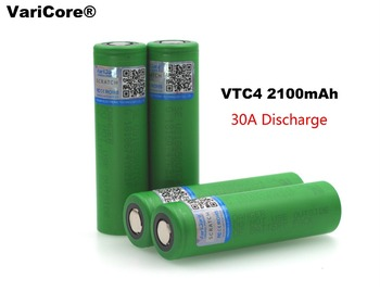 1PCS/lot New Original 3.6V 18650 US18650VTC4 2100mAh VTC4 Rechargeable battery For SONY Electronic cigarettes