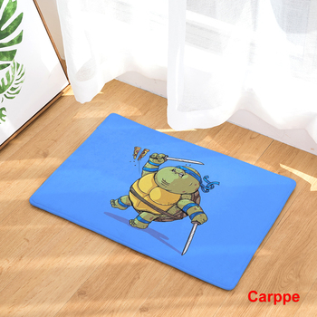 2017 New Home Decor Cartoon Characters Carpets Non-slip Kitchen Rugs for Home Living Room Floor Mats 40X60 50X80cm