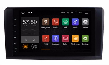 Android 7.1 6.0 2Din 9 Inç Araba DVD GPS Video Player Mercedes/Benz R Class/W251/R280/R300/R320/R350R500/R63/AMG 2G RAM Radyo