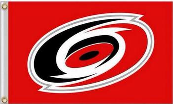 Carolina Hurricanes Bayrak 100D Dijital baskı afiş 3X5FT
