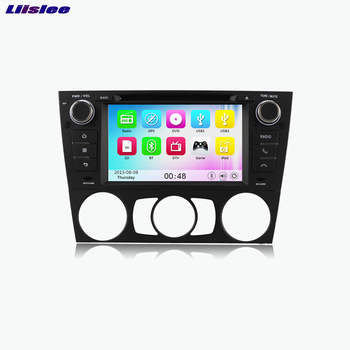 Liislee BMW 3 Serisi Için Araba DVD oynatıcı Multimedya Ses Video Radyo GPS Navi Multi-touch Ekran Android Bluetooth Stereo
