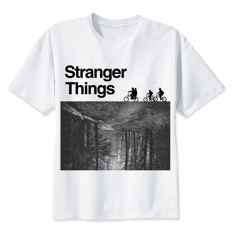Demogorgon stranger things upside down eleven t-shirt men 28 colors funny t-shirt tee top shirt male